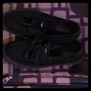 Black Men's Sperry